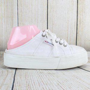 SUPERGA Slip-on No Back Shoes Size 8.5